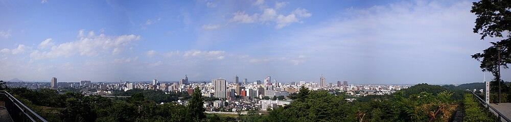 panoramo de la urbo