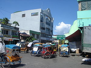 Virac, Catanduanes - Downtown area
