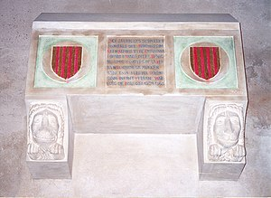 Eleanor of Castile (1307–1359) - Alleged sepulcher of Queen Eleanor of Castile in the Old Cathedral of Lleida.