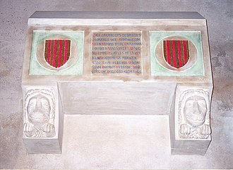 Eleanor of Castile (1307–1359) - Alleged sepulcher of Queen Eleanor in the Old Cathedral of Lleida.