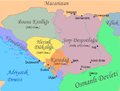 Serbia in 15th century.png