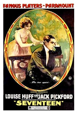 Seventeen (1916 film) - Theatrical release poster