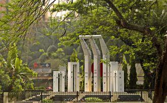 Comilla Zilla School - Shaheed Minar of Comilla Zilla School
