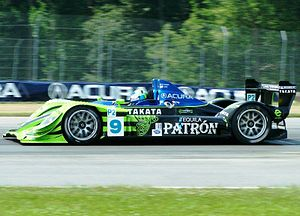 Sharp On Track At The Acura Sports Car Challenge Of Mid Ohio In July 2008