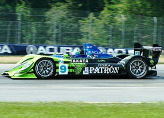 Scott Sharp - Sharp on track at the Acura Sports Car Challenge of Mid-Ohio in July 2008