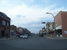 Main street in Shawano