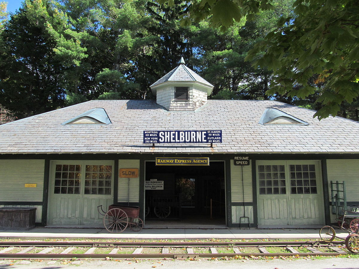 Shelburne Railroad Station And Freight Shed - Wikipedia