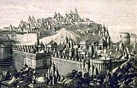 Shetrunjay Palitana Jain Temples drawing 1866.jpg