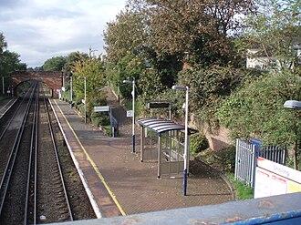 Sholing - Sholing railway station