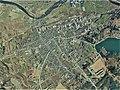 Shobara city center area Aerial photograph.1975.jpg