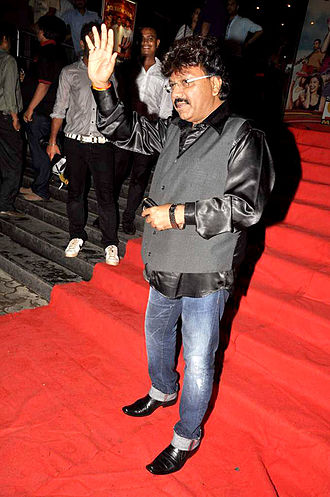 Nadeem–Shravan - Shravan Kumar Rathod, one half of the Nadeem–Shravan duo, in 2012.