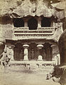 Shrine of the River Goddesses - north side of Kailas Court (Kailasanatha Cave Temple, Cave XVI, Ellora).jpg