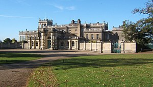 Sir William Fowle Middleton, 1st Baronet - Shrubland Hall as remodelled by the 2nd Baronet