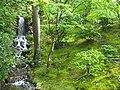 Shugaku-in Imperial Villa - Upper Garden waterfall.JPG