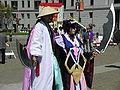 Shunsui Kyoraku & Katen Kyokotsu cosplayers at 2010 NCCBF 2010-04-18 2.JPG