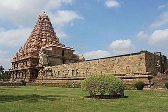 Gangaikonda Cholapuram - Side View of Gangaikonda Cholapuram Temple.