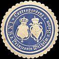 Siegelmarke Correspondenz - Seiner Königlichen Hoheit der Prinzessin Wilhelm von Baden W0216150.jpg