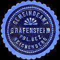 Siegelmarke Gemeindeamt Grafenstein Pol. Bez. Reichenberg W0312808.jpg