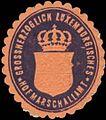 Siegelmarke Grossherzoglich Luxemburgisches Hofmarschallamt W0333235.jpg