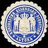 Siegelmarke Königliche Eisenbahn - Direction Altona W0229434.jpg