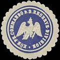 Siegelmarke K.Pr. Commando der 9. Reserve-Division W0379384.jpg