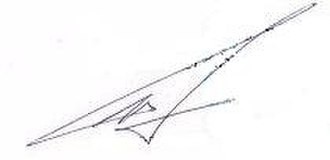 Igor Strelkov (officer) - Image: Signature of Igor Strelkov