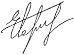 Signature of Yegor Borisov.png