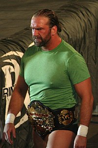 Silas Young als ROH World Television Champion, 2018.
