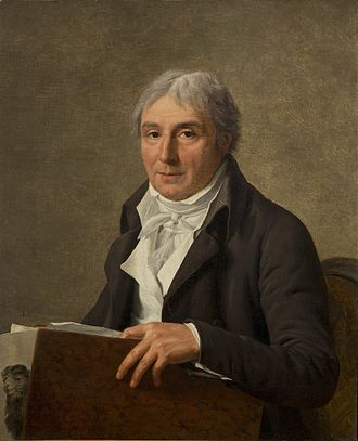 Simon Charles Miger - Portrait of Simon Charles Miger by Marie-Gabrielle Capet in 1806.