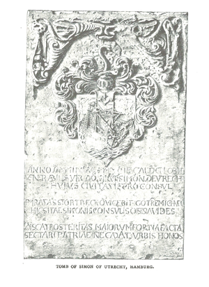 Simon of Utrecht - Image: Simon of Utrecht memorial stone