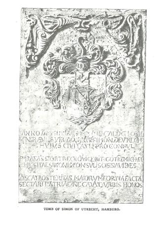 Simon of Utrecht - Image: Simon of Utrecht memorial stone