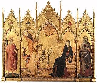 Annunciation in Christian art art subject
