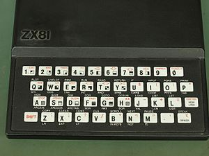 ZX81 - Sinclair ZX81 PCB Revision 3 keyboard