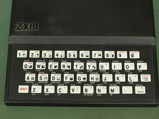 Sinclair ZX81 PCB Revision 3 Keyboard