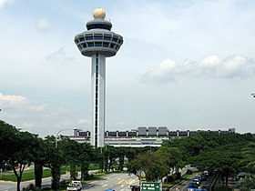 Singapore Changi Airport, Control Tower 2, Dec 05.JPG