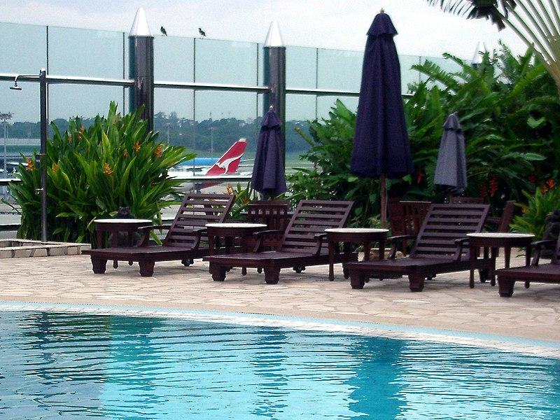 Changi Airport basen