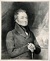 Sir Edward Bate. Lithograph by R. S. E. Gallon after himself Wellcome V0000396.jpg