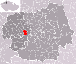 Location of Siřejovice