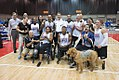 Sitting volleyball at the 2017 Warrior Games (preliminaries) 35654743065 c68b0dcd33 b.jpg