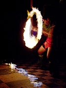Siva Afi - Fire spinning