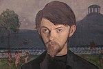 Självporträtt (detalj) - Ivar Arosenius.JPG