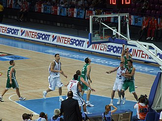 Great Britain men's national basketball team - Playing against Slovenia at the EuroBasket 2009