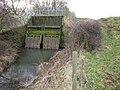 Sluice bridge over Slough Dyke - geograph.org.uk - 1120336.jpg