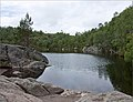 Small lake on the road to Preikestolen - Norway - panoramio.jpg