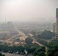 Smog as visible in the Gurgaon area near Delhi on Nov 2016.jpg
