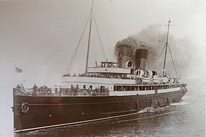 SS Snaefell (1906) - Snaefell seen in service.