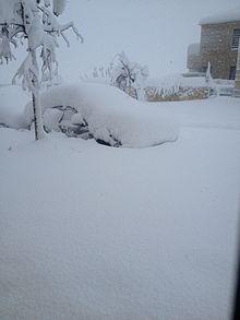 official photos 028bf a8e2e Snow-stranded automobiles in the Israeli settlement of Har Adar, December  2013