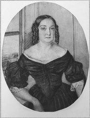 Sofia Crusenstolpe, 1807-1865, född Palmstruch, gift med Magnus Jakob Crusenstrolpe