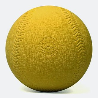 Baseball (ball) - A soft (compression) baseball