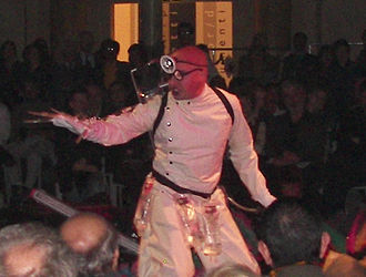 A Dream Play - The Quarantine Inspector in a 2010 production of A Dream Play